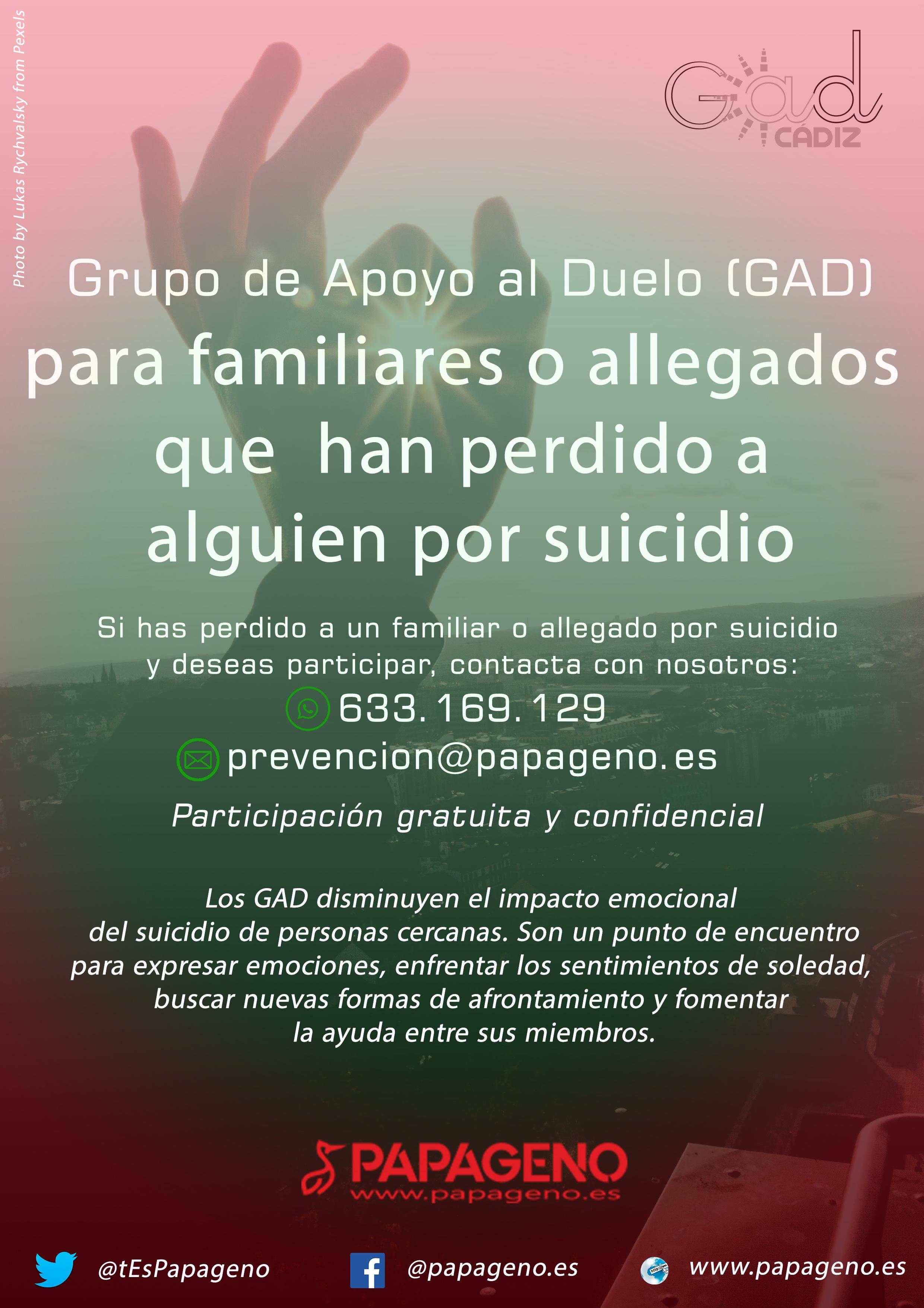Grupo de ayuda mutua supervivientes de suicidio